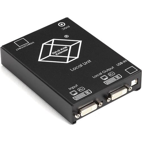 Black Box ACS4201A-R2 ServSwitch KVM (Dual-DVI/USB) over 2 CATx Dual-Access Extender Kit