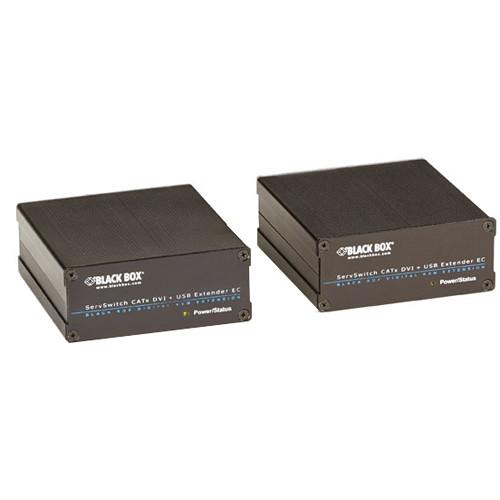 Black Box ServSwitch Fiber Optic DVI-D and USB Extender