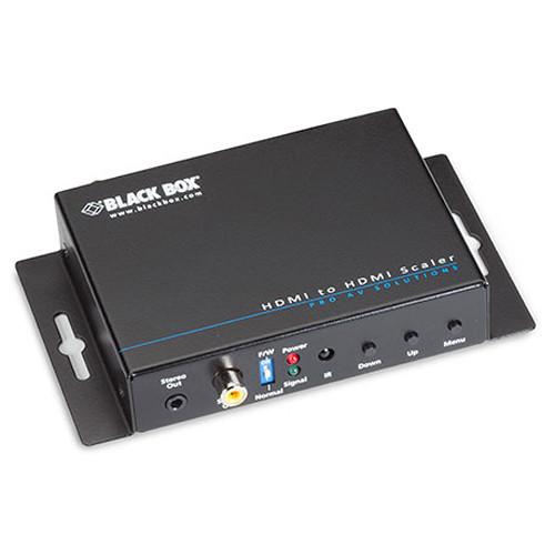 Black Box HDMI Scaler and Audio Embedder / De-Embedder