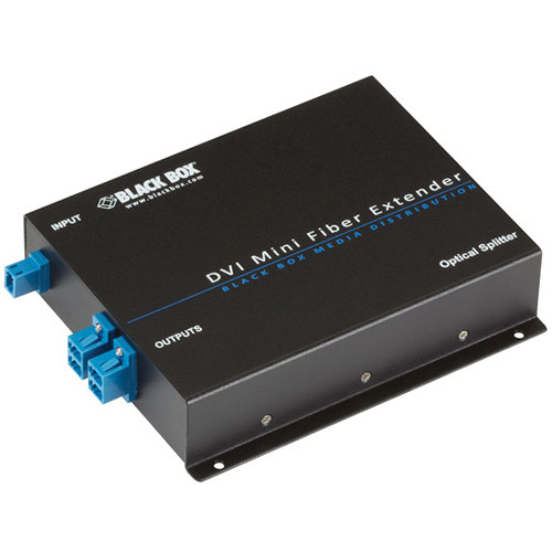 Black Box 4-Port Optical Splitter