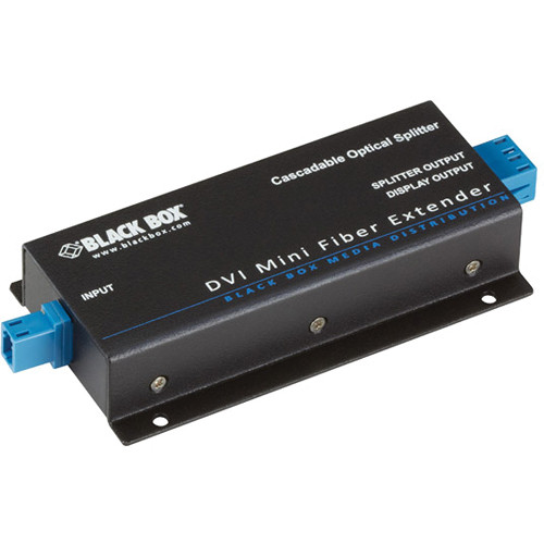 Black Box 2-Port Daisy-Chainable Optical Splitter