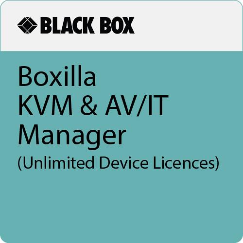 Black Box Boxilla KVM & AV/IT Manager (Unlimited Device Licences)