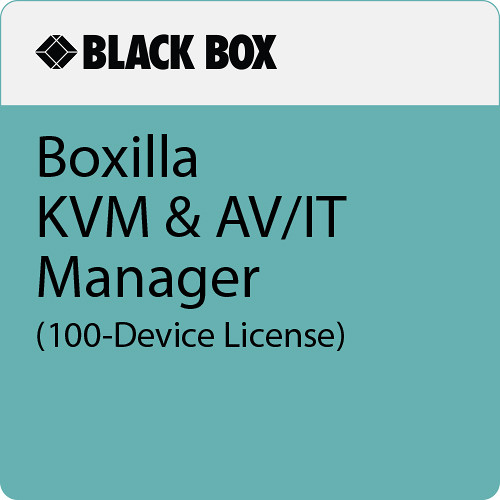 Black Box Boxilla KVM & AV/IT Manager (100-Device License)