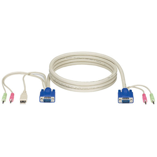 Black Box ServSwitch DT Pro Series CPU Cable with Audio (15')