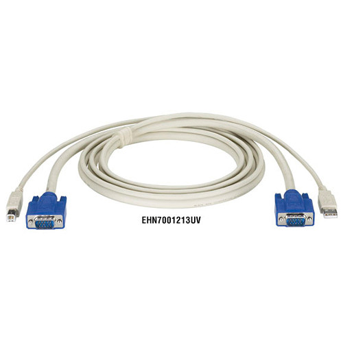 Black Box ServSwitch DT Series CPU Cable with USB and VGA Connectors (6')
