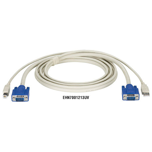 Black Box ServSwitch DT Series CPU Cable with USB and VGA Connectors (15')