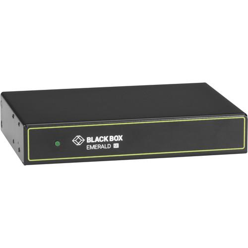 Black Box Emerald DVI KVM over IP Extender Transmitter, Single-Head, V-USB 2.0, Audio