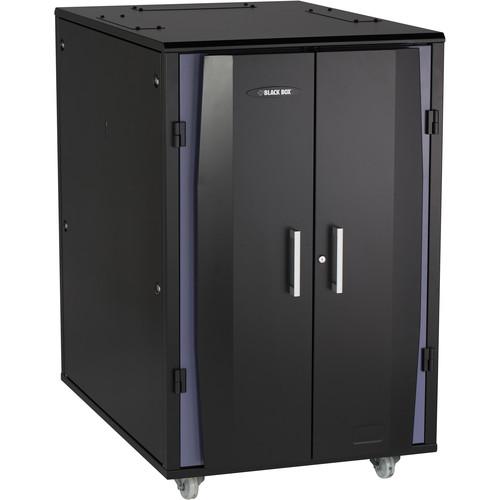 Black Box Elite QuietCab 24 RU Acoustic Cabinet (1100 lb Capacity)
