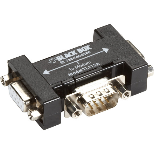 Black Box 2-Port RS-232/DB-9 Passive Splitter