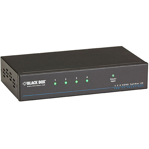 Black Box VSP-HDMI1X4-4K 4K HDMI Splitter (1 x 4)