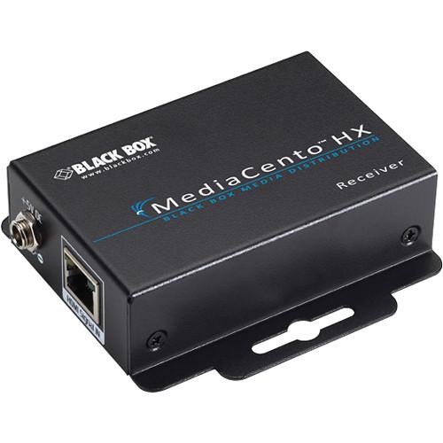 Black Box VSPX-HDMI-RX MediaCento HX Multimedia (HDMI/Audio) over CATx Extender Remote Unit