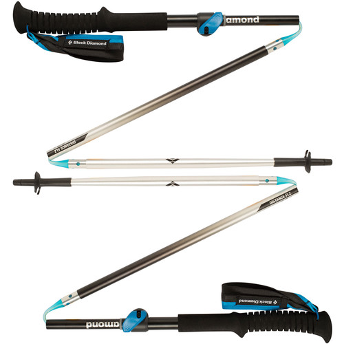 Black Diamond Distance FLZ Trekking Poles (105-125 cm)