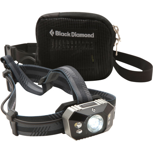 Black Diamond Icon Polar Headlamp (Black & Gray)