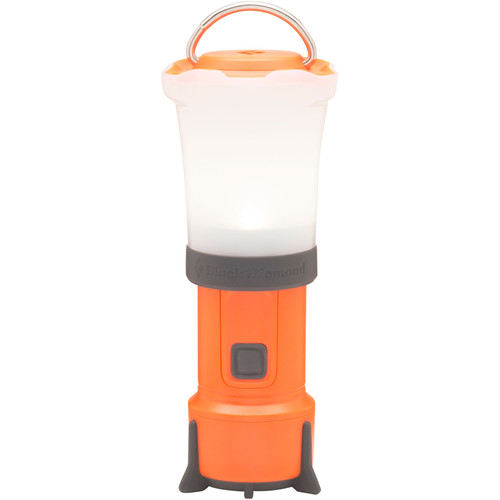 Black Diamond Orbit v2 LED Lantern/Flashlight (Vibrant Orange)