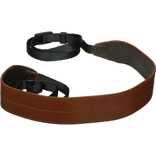 Black Label Bag Wide Camera Strap (Brown)