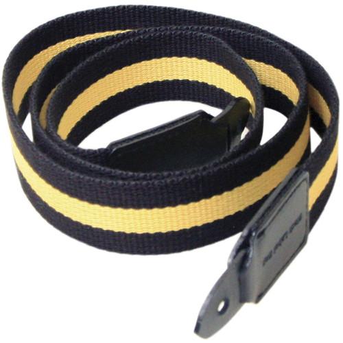 "Black Label Bag Yellow Racing Stripe Canvas Camera Strap - 40"""