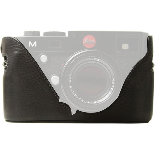 Black Label Bag Half Case for Leica M Type 240 and M-P Cameras (Black)