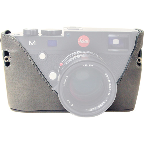 Black Label Bag Half Case for Leica M Type 240 and M-P Cameras (Gray)