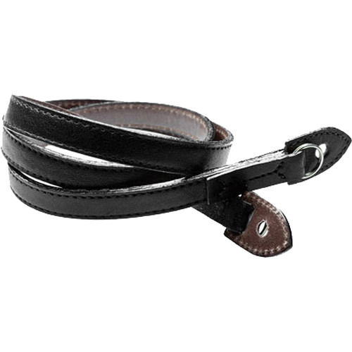 Black Label Bag M3 Style Leather Strap (Black / Dark Brown)
