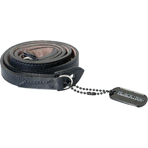 Black Label Bag M3 Style Leather Strap (Black / Gray)