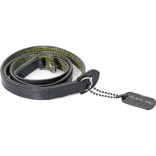 Black Label Bag M3 Style Leather Strap (Black / Snakeskin)
