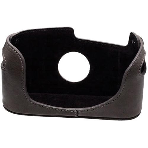 Black Label Bag Half Case for Leica M4, M6, M7, or MP Camera (Gray)