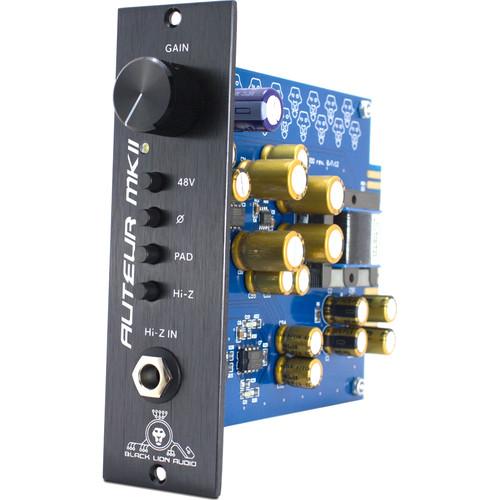 Black Lion Audio Auteur MKII 500 Mono 500 Series Microphone Preamplifier