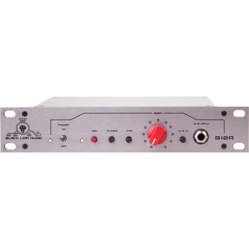 Black Lion Audio B12A MKII Microphone Preamplifier