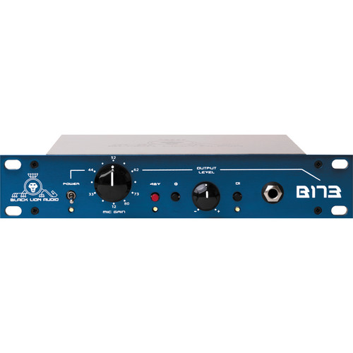 Black Lion Audio B173 Single-Channel Microphone Preamplifier