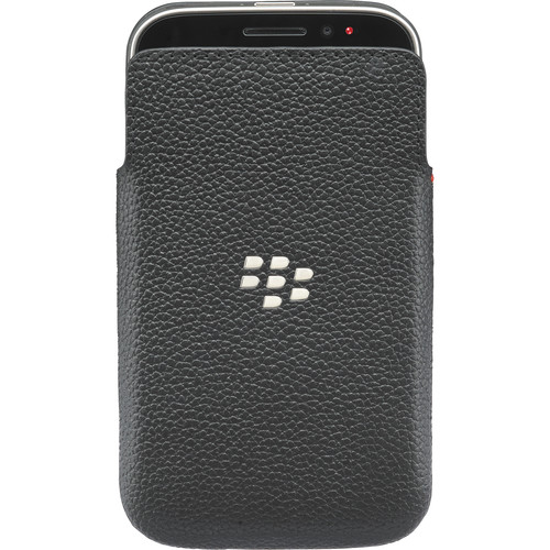 BlackBerry Classic Leather Pocket (Black)
