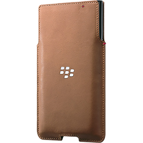 BlackBerry Leather Pocket Case for BlackBerry PRIV (Tan)