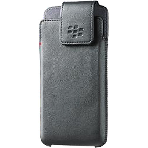 BlackBerry DTEK50 Leather Swivel Holster (Black)