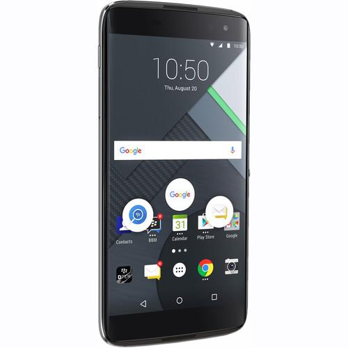 BlackBerry DTEK60 BBA100-1 32GB Smartphone (Unlocked, Earth Silver)