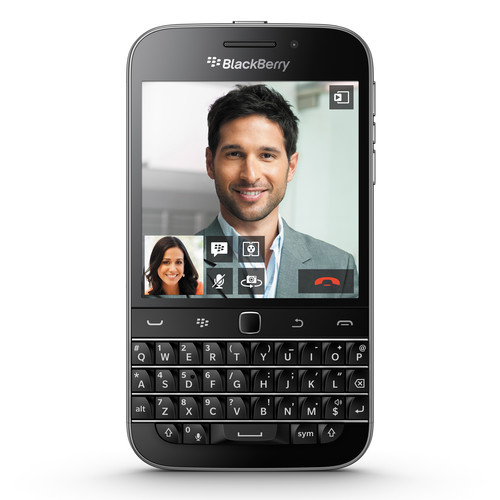 BlackBerry Classic SQC100-4 16GB Smartphone (Unlocked, Black)