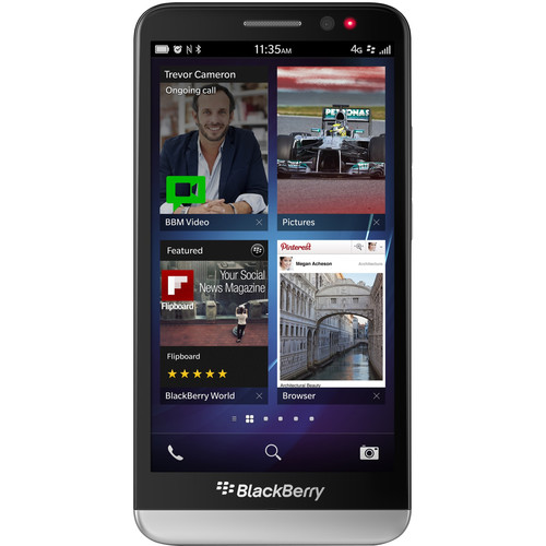 BlackBerry Z30 STA100-5 16GB Smartphone (Unlocked, Black)