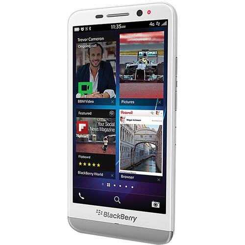 BlackBerry Z30 STA100-5 16GB Smartphone (Unlocked, White)