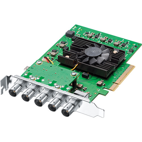 Blackmagic Design DeckLink 4K Pro 12G-SDI Video Capture & Playback Card