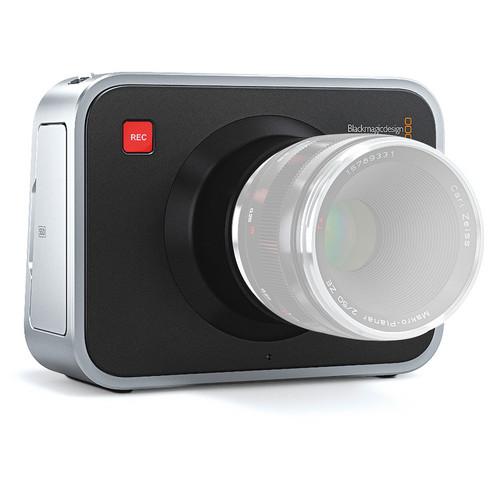 Blackmagic Design Cinema Camera EF Mount Kit w/Handgrip & External Battery