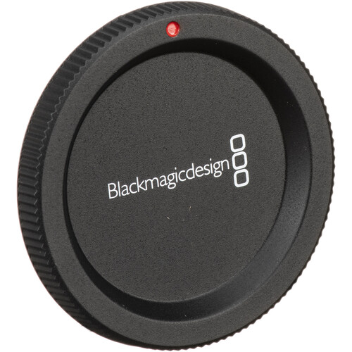 Blackmagic Design Replacement Body Cap for Select Blackmagic Design Cameras with MFT Mount