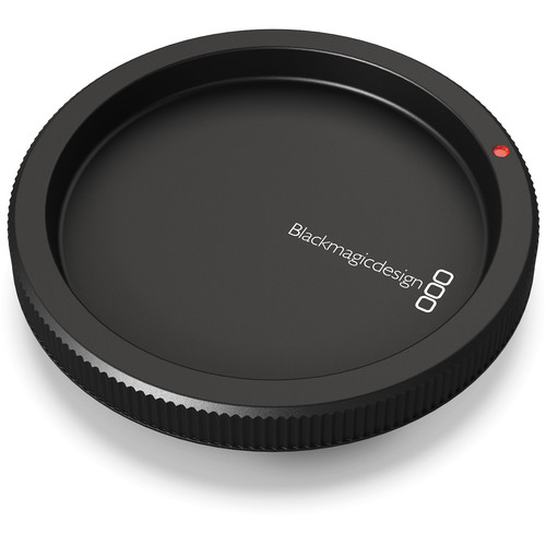 Blackmagic Design Replacement Body Cap for Select Blackmagic Design Cameras with PL Mount