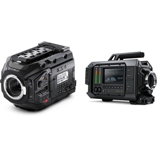 Blackmagic Design URSA Mini Pro and URSA 4K PL Cinema Camera Kit