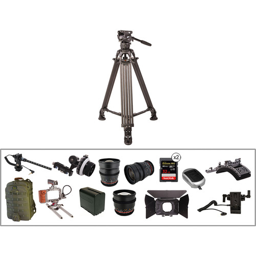 ikan Complete Video Production Kit for Blackmagic Pocket Cinema Camera