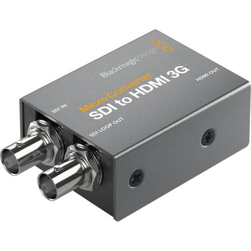 Blackmagic Design Micro Converter SDI to HDMI 3G (with Power Supply)