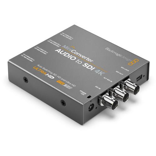 Blackmagic Design Mini Converter Audio to SDI 4K