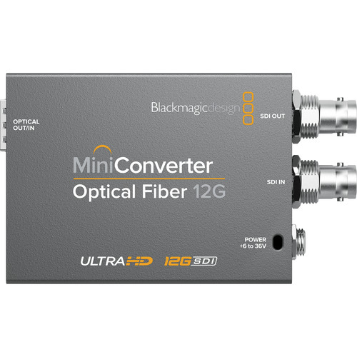 Blackmagic Design Mini Converter Optical Fiber 12G-SDI