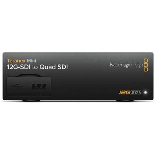 Blackmagic Design Teranex Mini - 12G-SDI to Quad SDI Converter