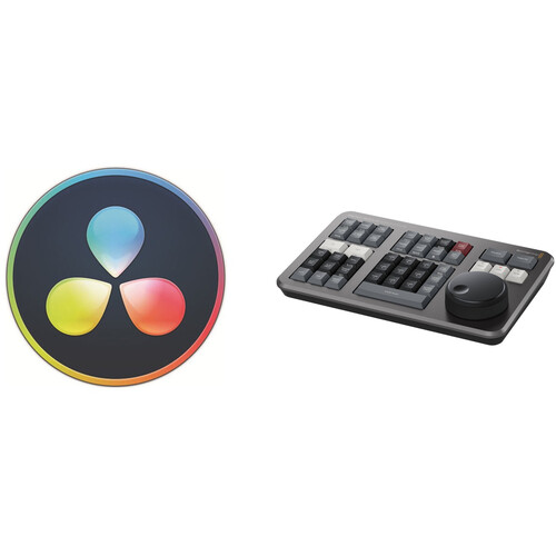 Blackmagic Design DaVinci Resolve 17 Studio with Speed Editor (Activation Card)