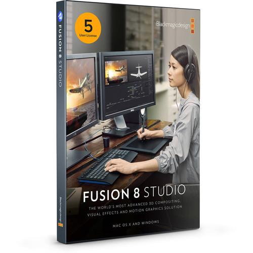 Blackmagic Design Fusion Studio Multipack with  5-User License