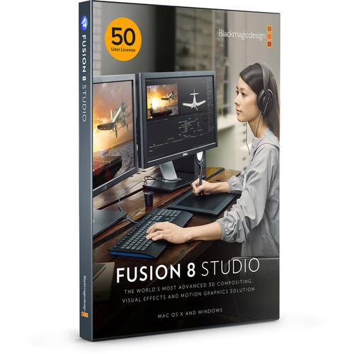 Blackmagic Design Fusion Studio MultiPack with 50-User License