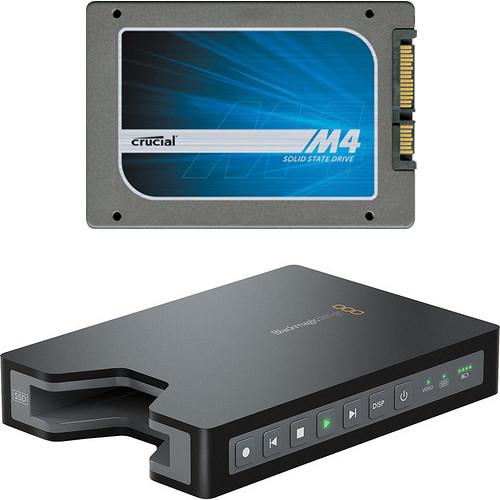 "Blackmagic Design HyperDeck Shuttle 2 SSD Video Recorder/ 240GB 2.5"" SSD Kit"
